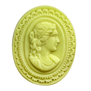 Milky Way Mold, Cameo Large (MW 278)