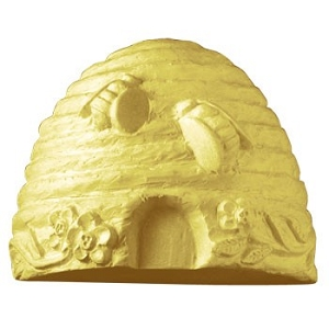 Milky Way Soap Mold, Bee Skep (MW 60)