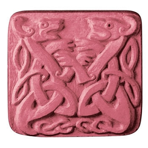 Milky Way Soap Mold, Celtic Dragons (MW 327)
