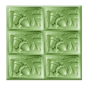 Milky Way Soap Mold, Tray Acorn (MW 442)