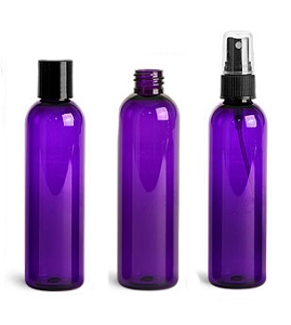 Bottle, Bullet 4oz Purple