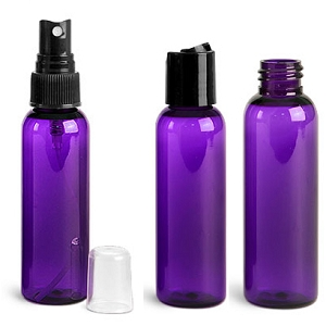 Bottle, Bullet 2oz Purple