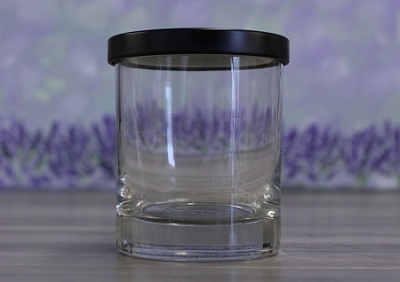 LID, for 7oz Clear Tumbler 2328 - BLACK LID ONLY