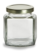 HEX,  Jar w/Gold lid 190ml (6oz)