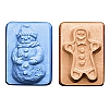 Milky Way Mold, Snowman & Gingerbread Man Guest (MW 052)