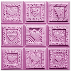 Milky Way Mold, Crazy Hearts Tray (MW 050)