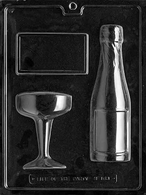Soap Mold, Champagne (M163)