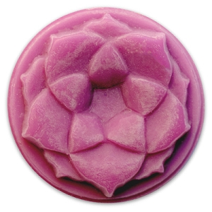 Milky Way Mold, Lotus Blossom Small Round (MW 158)