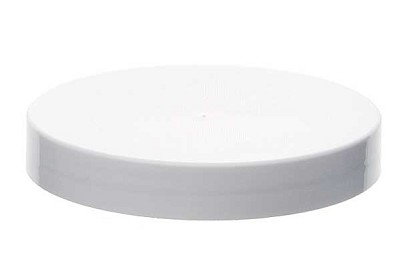 Cap, 89-400 Smooth PS Lined White (fits 8oz)