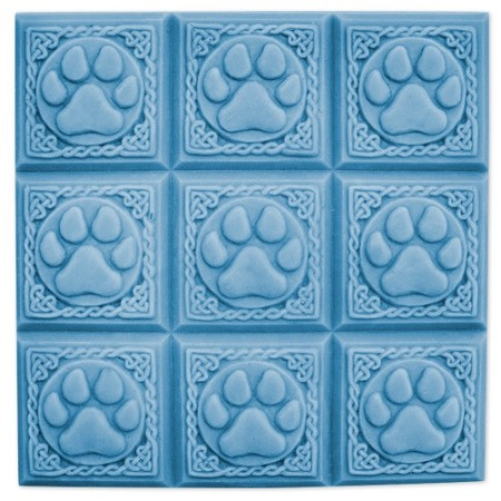 Milky Way Mold, Paw Prints Tray (MW 037)