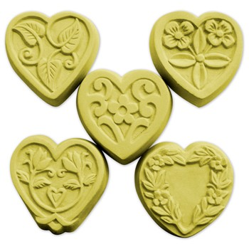 Milky Way Mold, Hearts Floral Guest (MW 044)