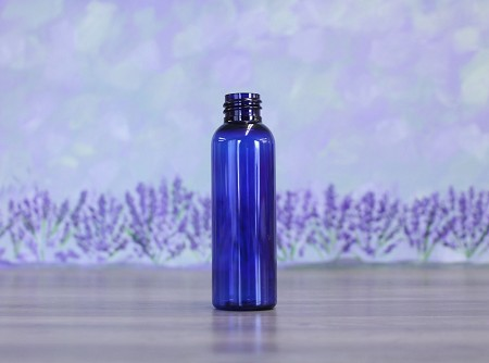 Bottle, Bullet 2oz Blue + No Lid