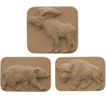 Milky Way Mold, Animals (MW 214)