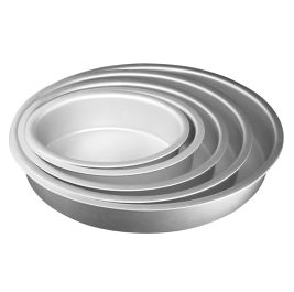 "Cake Pan, Oval 14x11x3"" (Fat Daddio's)"