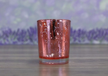Pink Metallic Votive Candle Holder (12 pack)