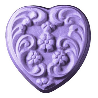 Milky Way Mold, Floral Heart (MW 073 )