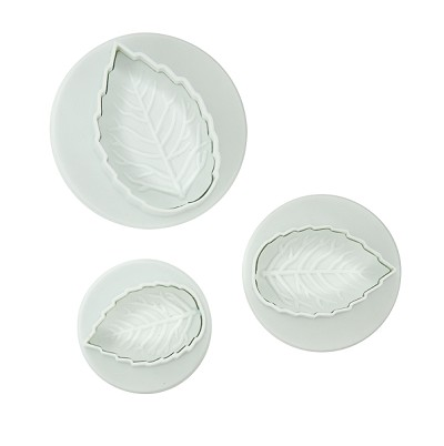 Plunger Cutter, Rose 3pc