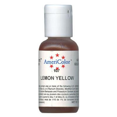Soft Gel Paste, Lemon Yellow 1oz