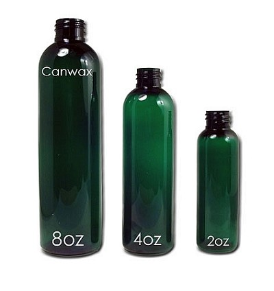 Bottle, Bullet 8oz Green