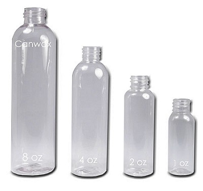 Bottle, Bullet 8oz Clear