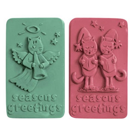 Milky Way Mold, Seasons Greetings (MW 133)