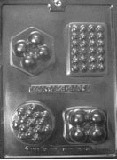 Soap Mold, Massage Bar (M170)