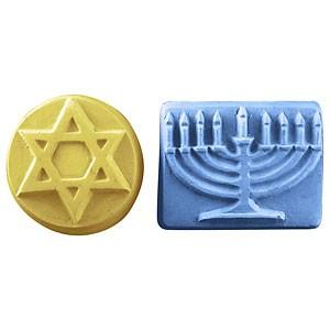 Milky Way Mold, 5 Hanukkah (MW 347)