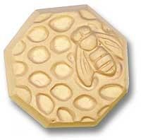 Milky Way Mold, Bee and Honeycomb (MW 007)