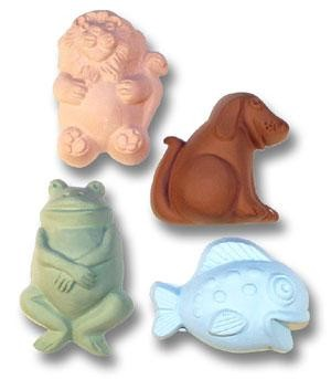 Milky Way Mold, Kids Critters 1 Guest (MW 109)