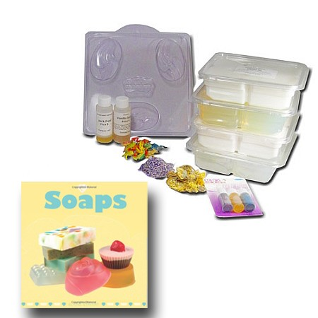 Starter Kit, Melt & Pour Soap Making (Deluxe)