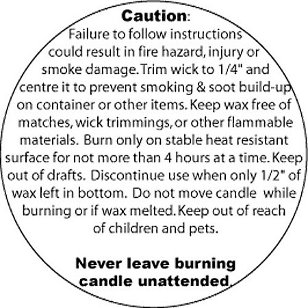 Warning Labels, Containers